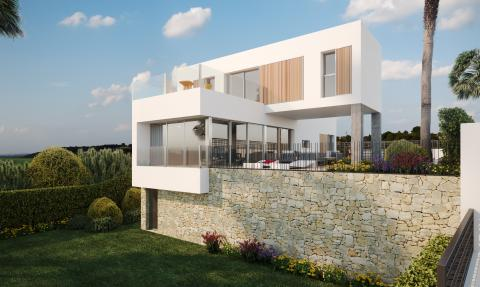 New modern villas in La Finca GOLF
