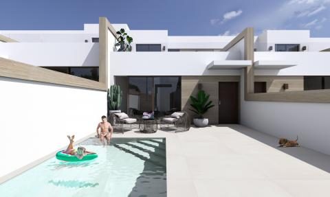 Semi-detached pool villa Almeda II, B..