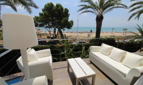Luxury property on the beach of Cullera